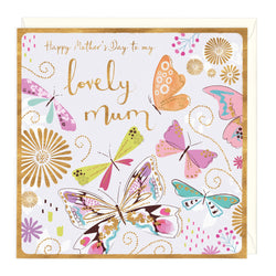 Happy Mothers Day Lovely Mum Card