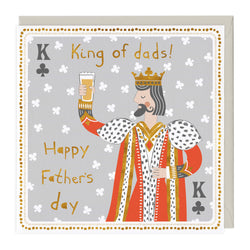 King of Dads Father's Day Card