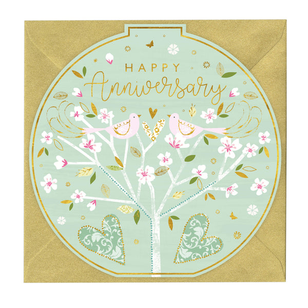 Happy Anniversary Round Card