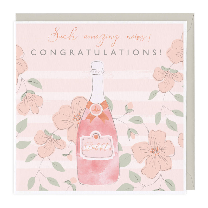 Such Amazing News Congratulations Card