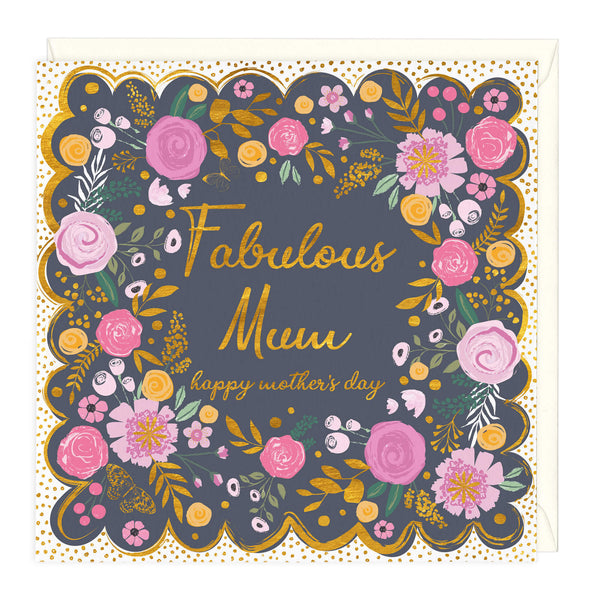 Fabulous Mum Happy Mother's Day Card