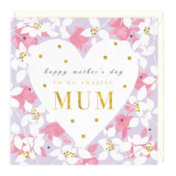 Happy Mother's Day To My Amazing Mum Card