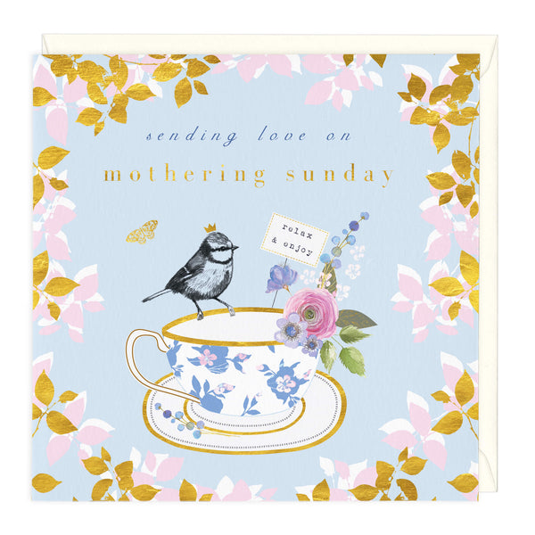 Sending Love On Mothering Sunday Card
