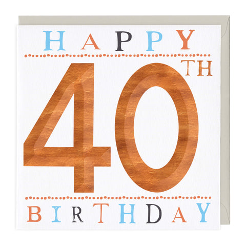 50th Birthday 3D Card