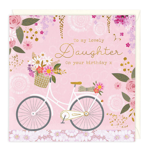 To My Lovely Daughter Birthday Card
