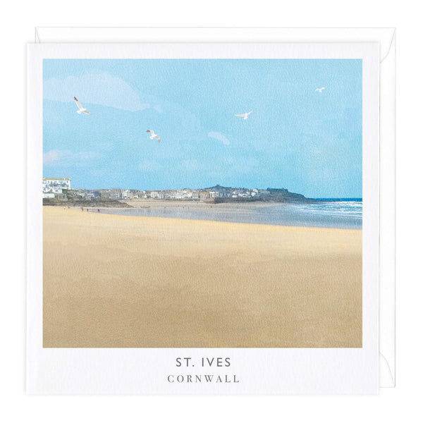 St Ives Travel Art Card
