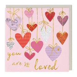 Personalised You Are So Loved Card