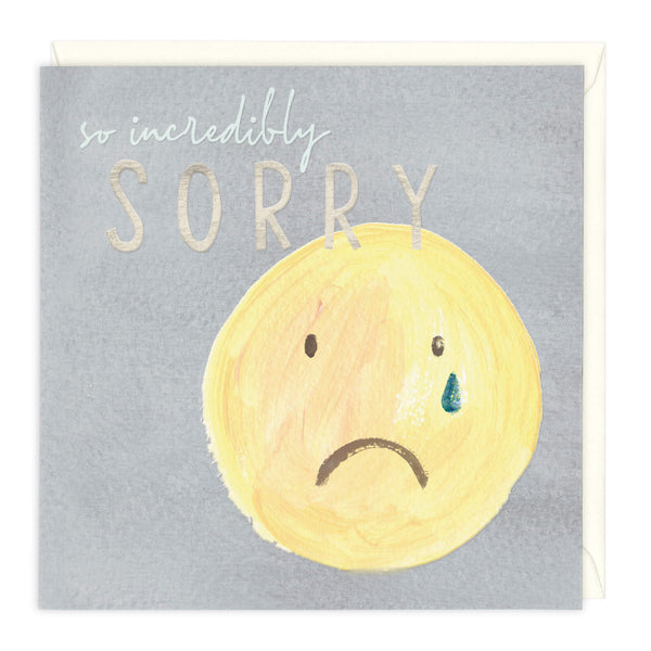 So Incredibly Sorry Card