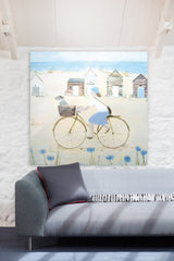 Getting Away From It All Large Frameless Art Print