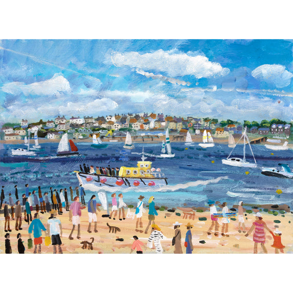 Padstow to Rock Art Print