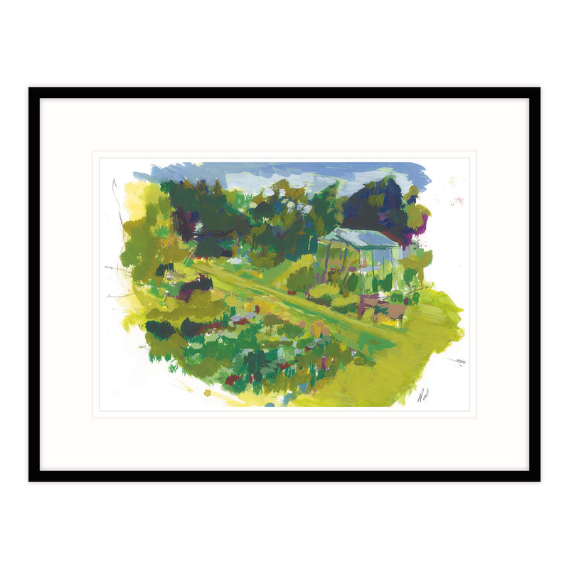 Deb's Vegetable Patch Framed Print