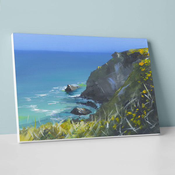 Spring Cliffs Canvas