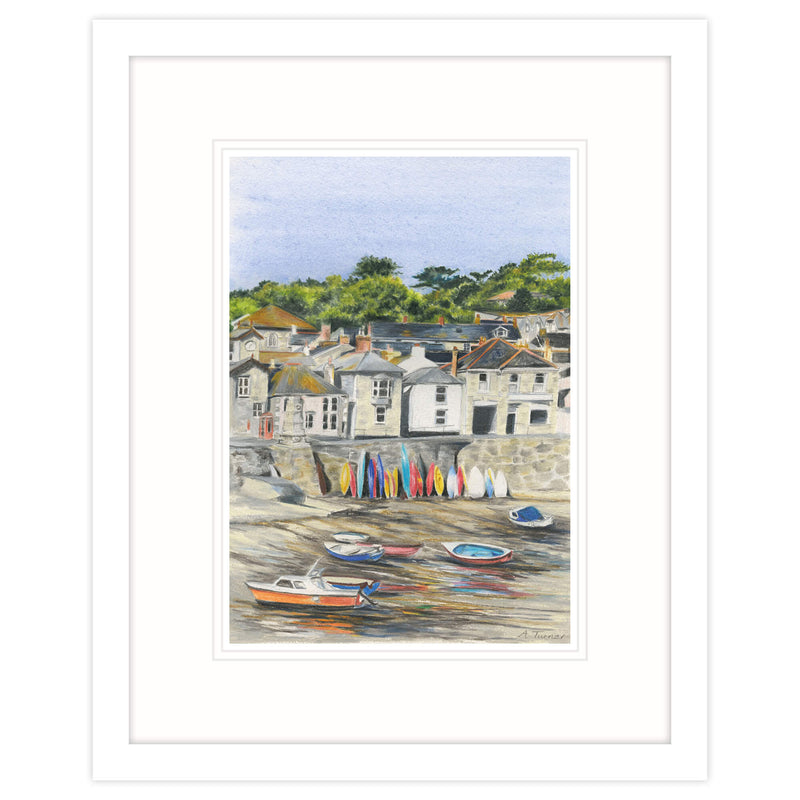 Mousehole Framed Print