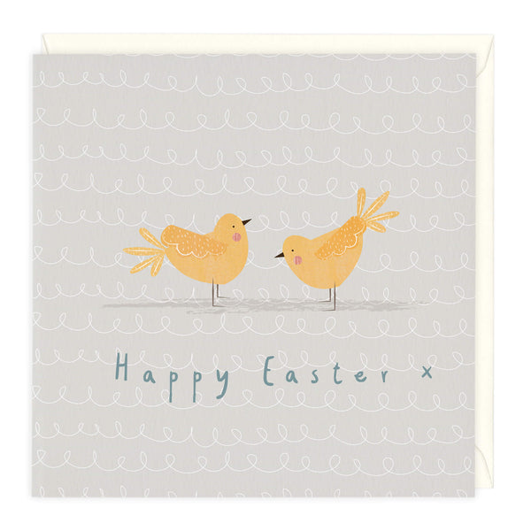 Happy Chicks Easter Card