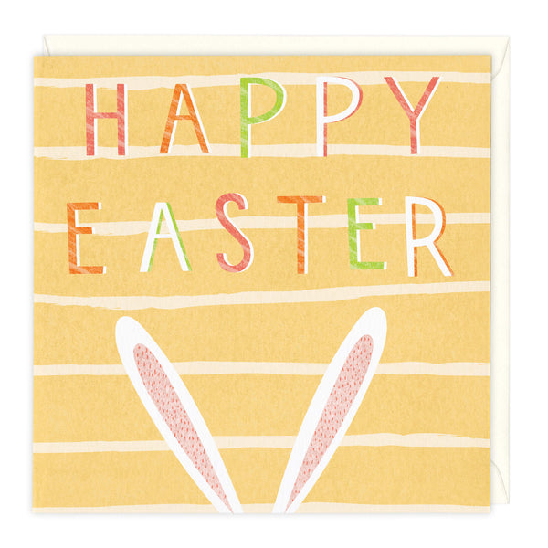 Happy Easter Ears Card