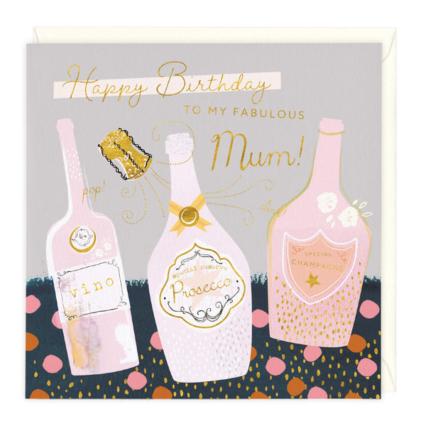 Fabulous Mum Happy Birthday Card