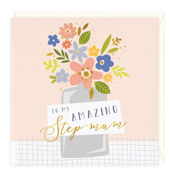To My Amazing Step Mum Card