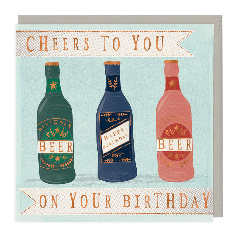 Cheers To You On Your Birthday Card