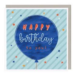 Balloon Happy Birthday To You Card