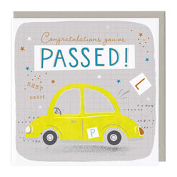 Congratulations You've Passed Your Driving Test Card