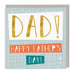Dad! Happy Father's Day Card