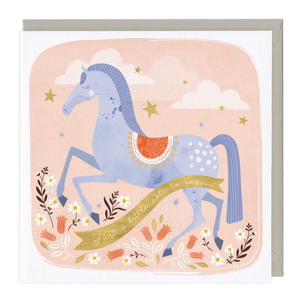 Happy Horse Just To Say Card