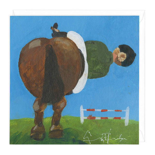 Side Saddle Art Card