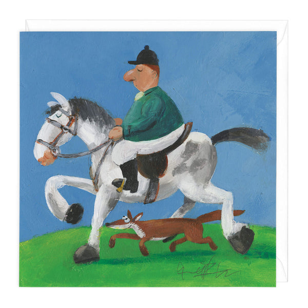 Tally Ho Art Card