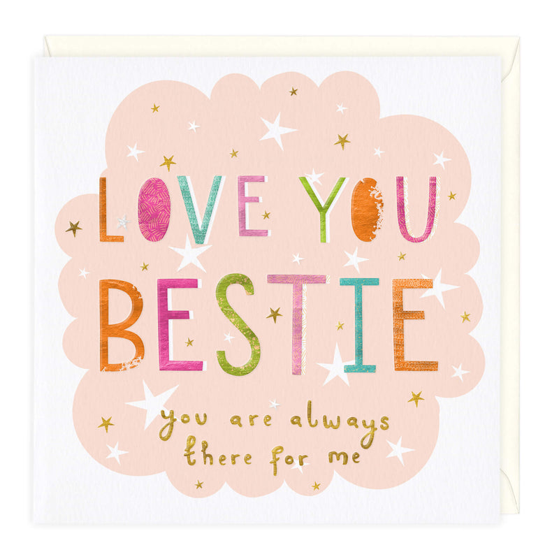 Love You Bestie Card