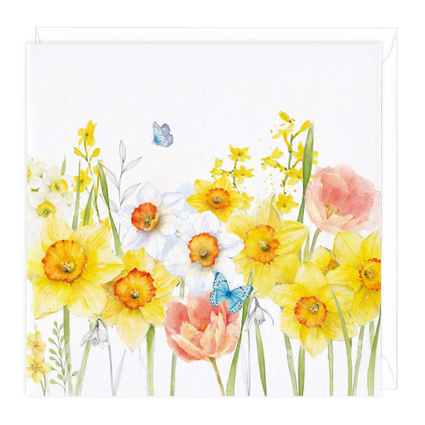 Daffodil Meadow Art Card