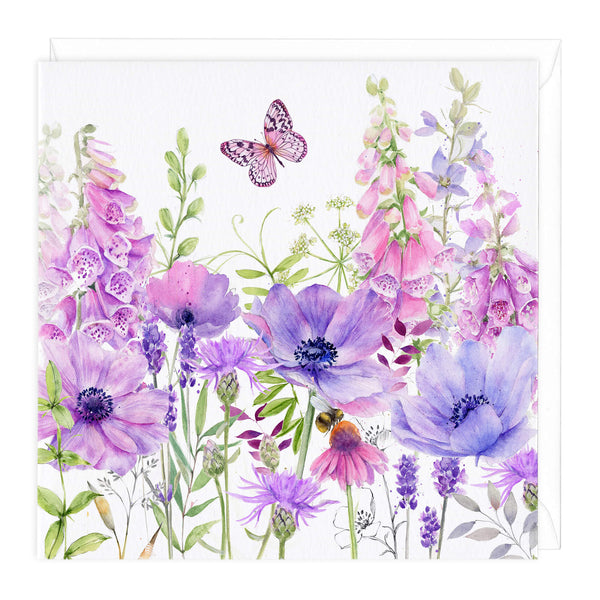 Foxglove Fields Art Card