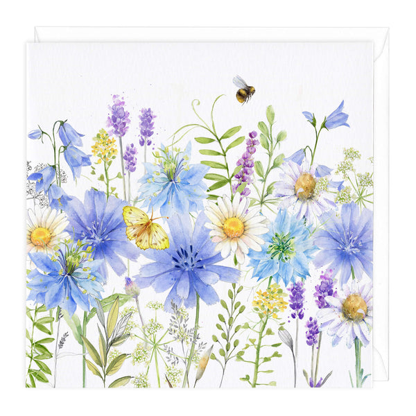 Nigella Meadow Art Card