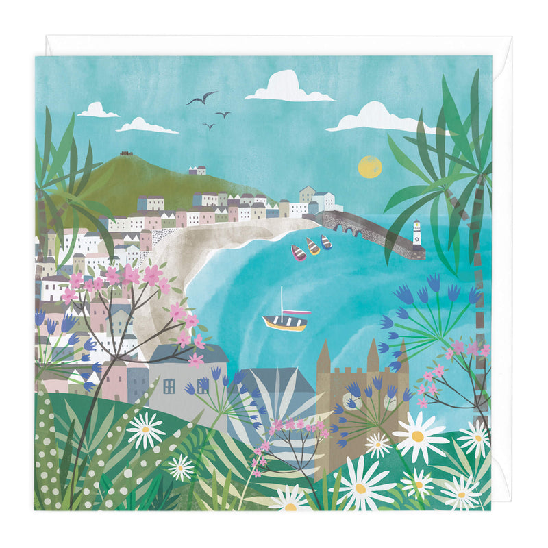 St Ives Watercolour Art Card