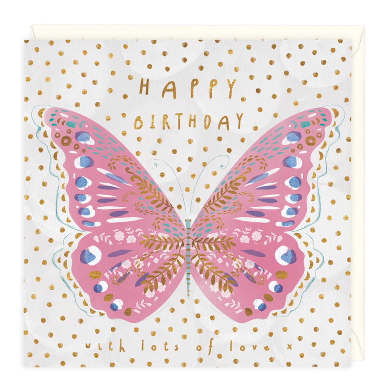 Beautiful Birthday Butterfly Card