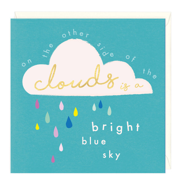 Bright Blue Sky Card