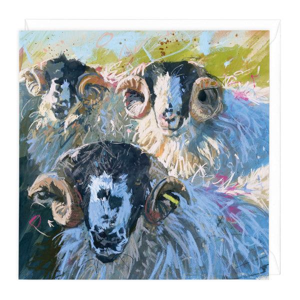Rough Fell Tups Art Card