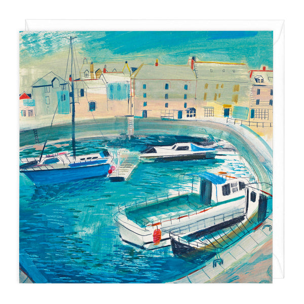 Daily Harbour Walk Art Card