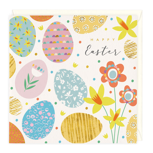 Fun and Fabulous Eggs Easter Card
