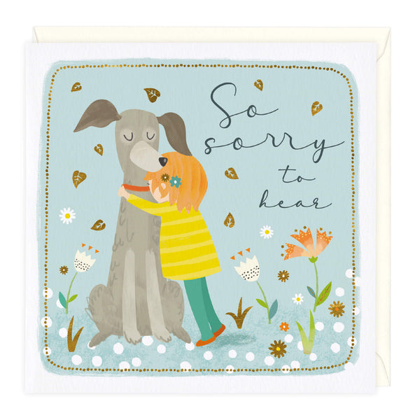 Favourite Hug So Sorry To Hear Sympathy Card