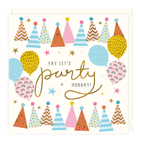Yay Let's Party Celebration Card