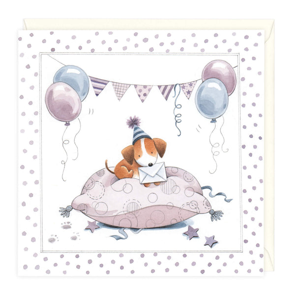 Comfortable Party Birthday Card