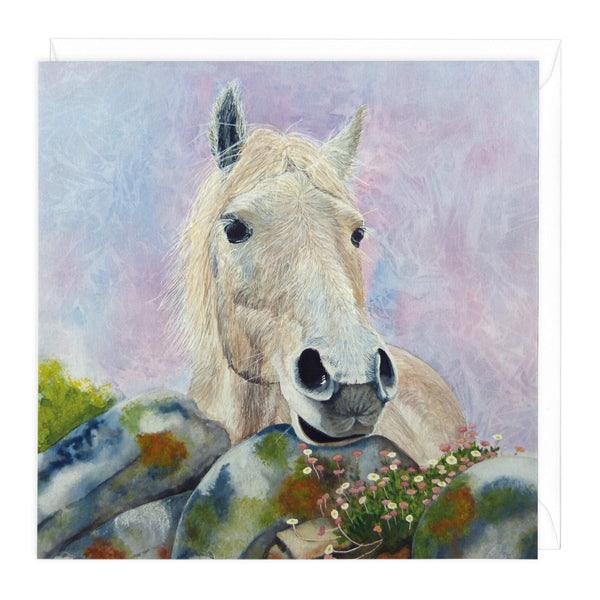 Polo Pony Art Card