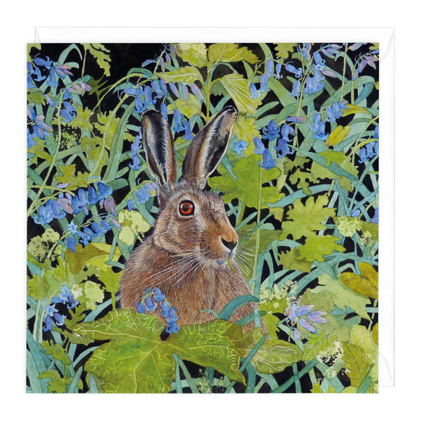 Bluebell Dell Art Card