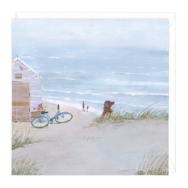 Beach Day Out Art Card