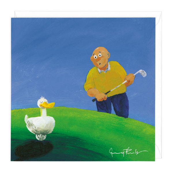 Duck Driver Art Card