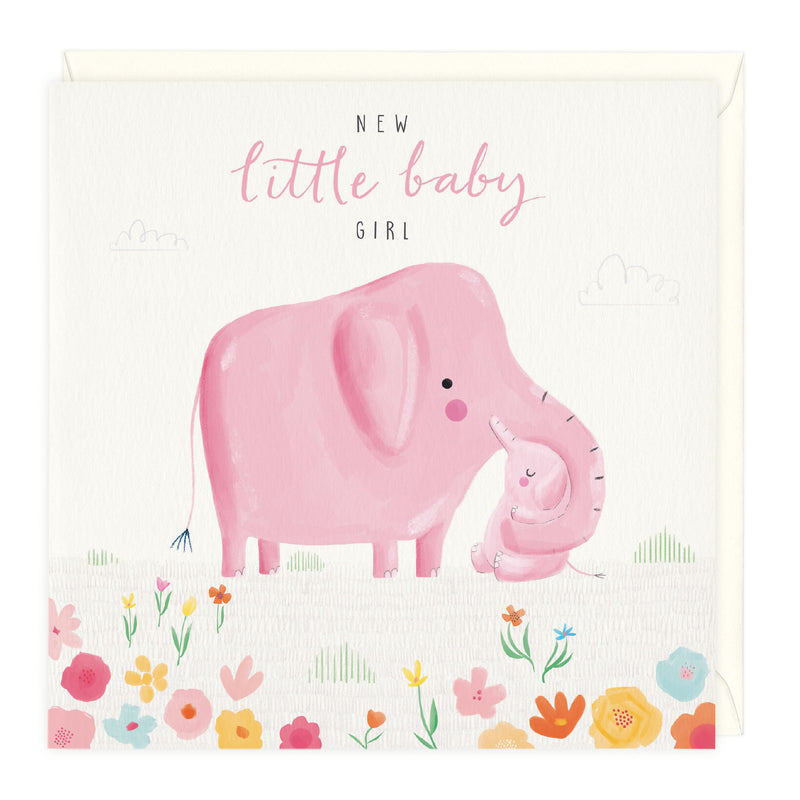 New Little Baby Girl Card