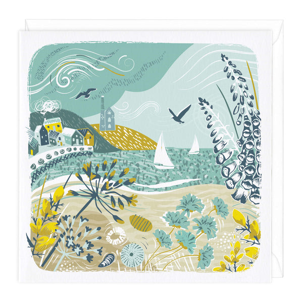 Cornish Gorse Art Card