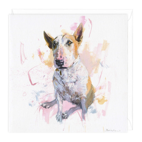 Bull Terrier 1 Art Card