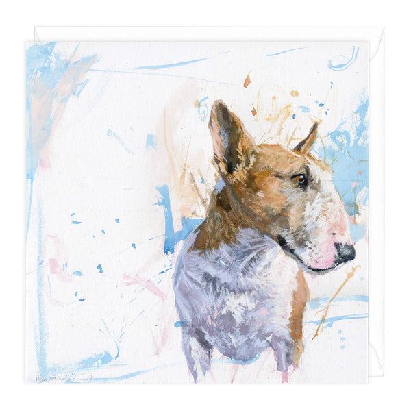 Bull Terrier 2 Art Card