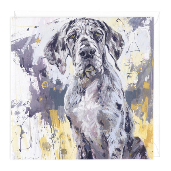 Great Dane Art Card